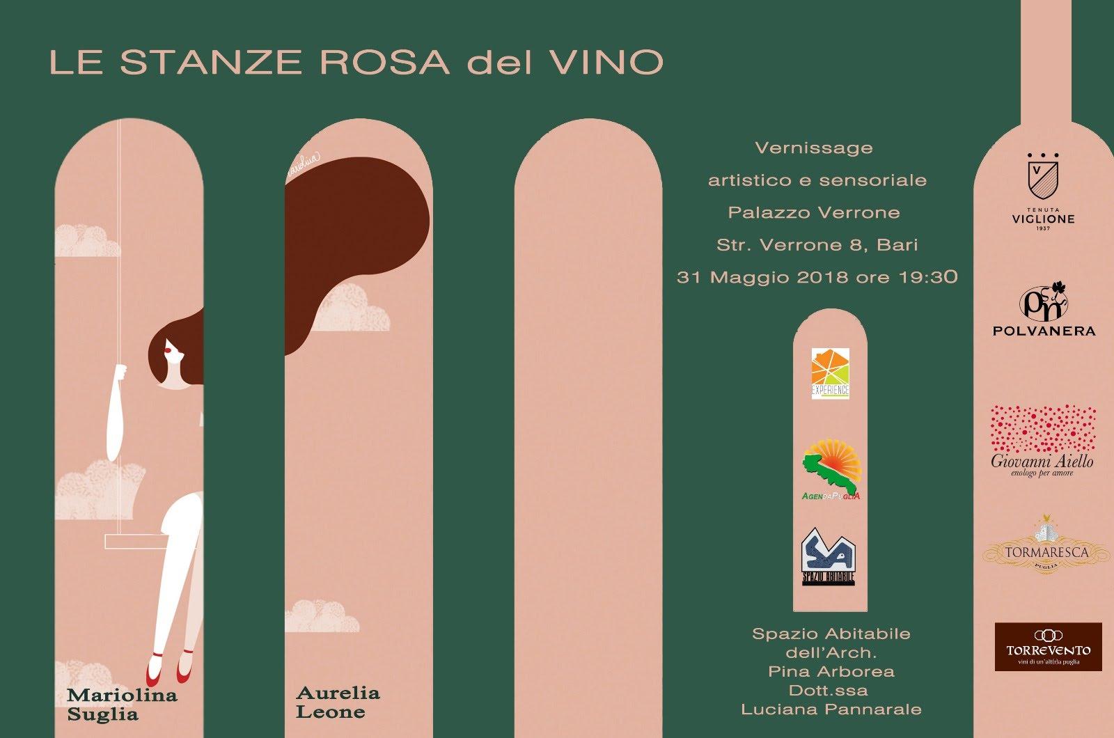 Le stanze rosa del vino