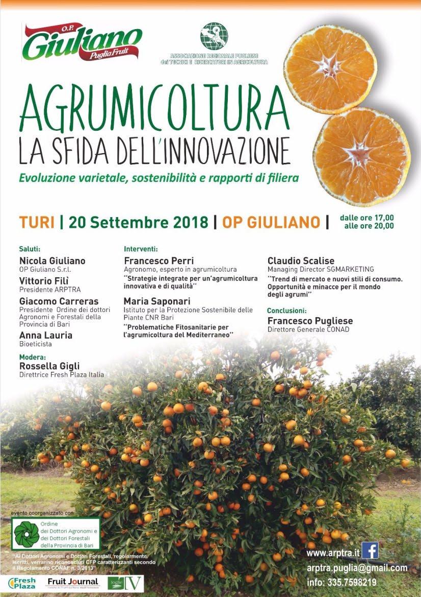 Convegno Agrumicoltura - La sfida dell'innovazione