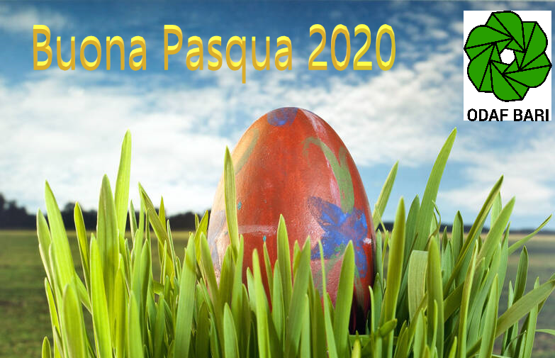 immagine auguri di una serena Santa Pasqua 2020